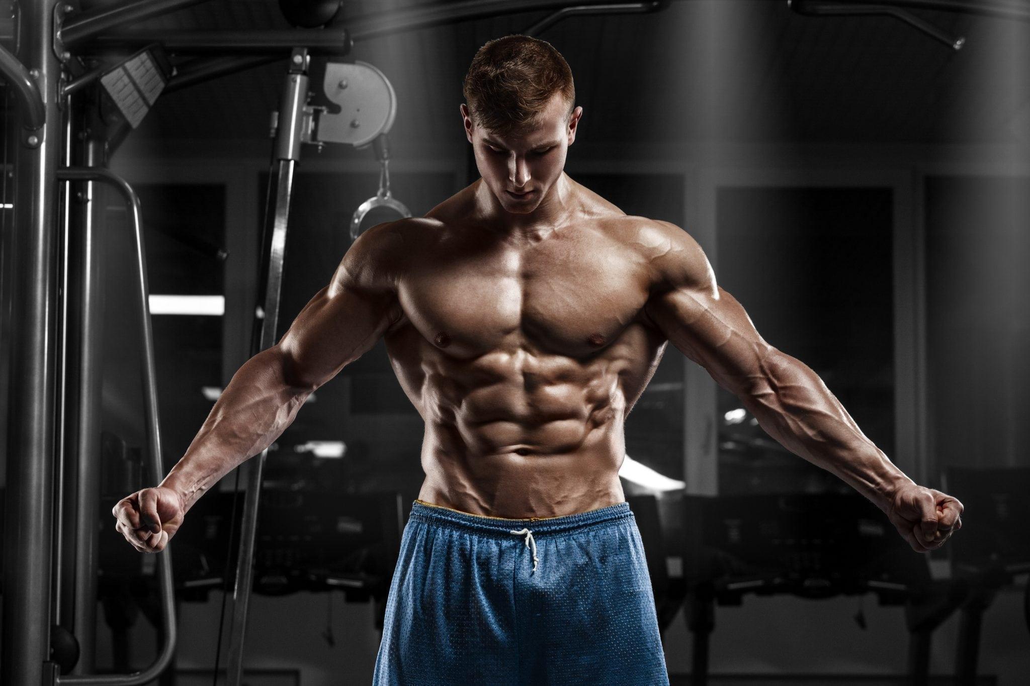 بناء عضل صافي